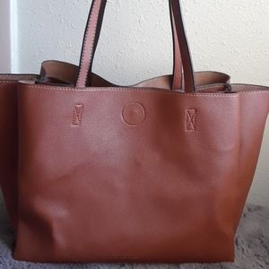 Melie Bianco Vegan Brown purse/tote
